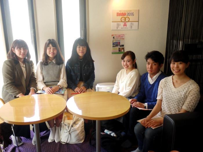 成蹊大学・文学部現代社会学科の皆さんがインタビュー調査に来られました!