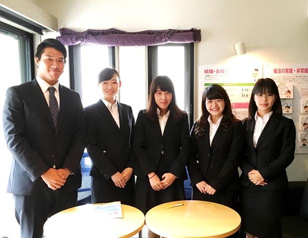 武蔵大学・経済学部の皆さんがインタビュー調査に来られました!