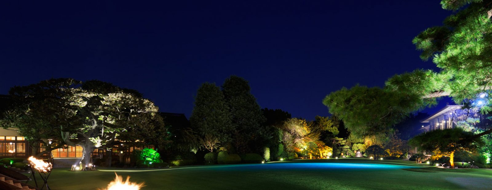 庭園夜 (1)